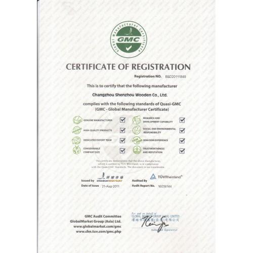 CERTIFICATE OF REGISTRTION