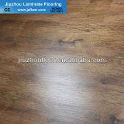 12mm easy lock brown core embossed laminate flooring