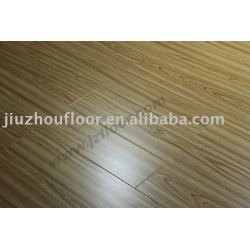 8mm AC4 v - groove indoor decoration embossed laminate flooring