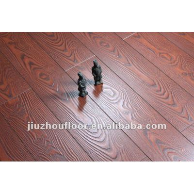 Match registered wooden laminate flooring V-groove paint