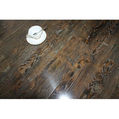 High gloosy Decoration Ac3 laminate flooring 12mm