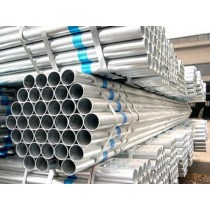 Fence post construction use galvanized steel pipe