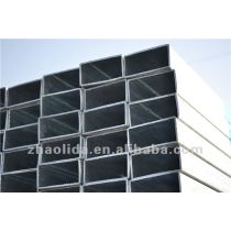 construction and steel structure galvanzied square and rectangular steel pipe