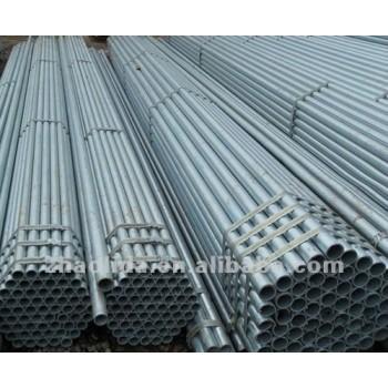 pre galvanized sch40 fluid steel pipe