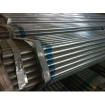hot dip galvanized erw welded steel pipe