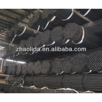 black carbon erw steel pipe for scaffolding use
