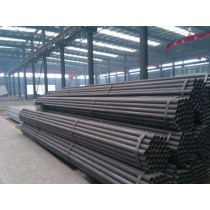 Varnished ERW Welded Carbon Steel Pipe