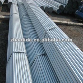 pre-galvanized round steel pipe