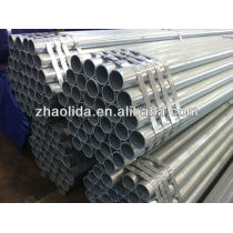 BS1139 hot dip galvanized construction and scaffolding steel pipe