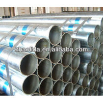 ASTM welded hot dip galvanized steel pipe for construction and structure use
