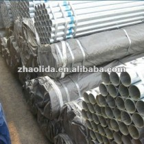 BS 1387 Gr. B Hot Dipped Galvanized Steel Pipe