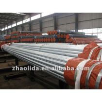"""ASTM A53 SCH40 Galvanized Steel Pipe 1/2"""" to 4inch to 8"""""""