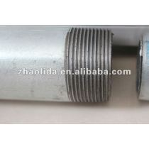 galvanized steel pipe with thread and coupling