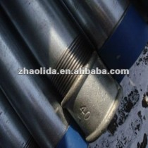 hot dipped galvanized erw steel pipes