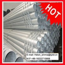 GALVANIZED PIPES;ASTM A53 SCH40 PIPES