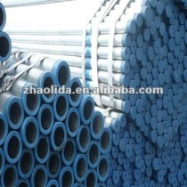 Fluid Pipe: ERW Hot Dipped Galvanized Steel Pipe