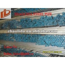"""Prime 1 1/2"""" Hot Dipped Galvanized Threaded Carbon Iron Pipe"""