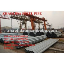 """Prime ASTM A53 3"""" Hot Dipped Galvanized Threaded Steel Pipe"""