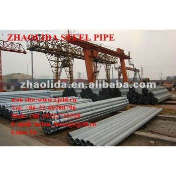 "Prime ASTM A53 3"" Hot Dipped Galvanized Threaded Steel Pipe"