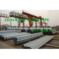 Prime 1/2 inch Hot Dipped Galvanized Threaded Carbon Iron Pipe