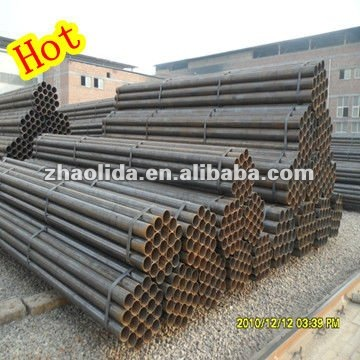 Ms erw black round pipe buy carbon iron pipe carbon for M s living room accessories