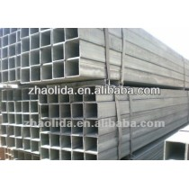 hot dip galvanized square/rectangular pipe usage steel structure/construction
