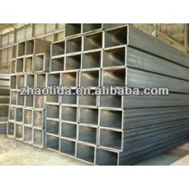 galvanized rectangular steel pipe for construction use