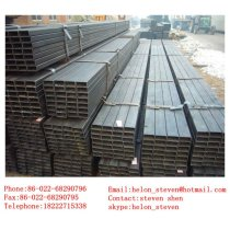 ERW black ms square steel pipe