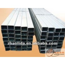 Extruded galvanized steel square pipe