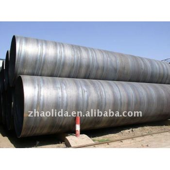 spiral welded galvanized steel pipe ,SSAW