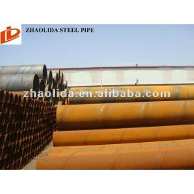 Q195-Q345 Prime 219mm-3020mm Spiral Carbon Iron Pipe
