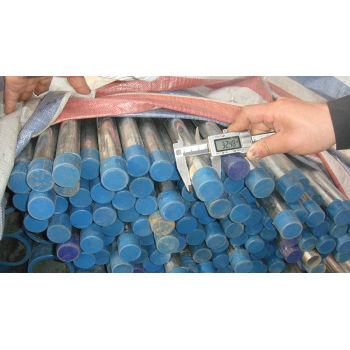 galvanized hot round tube/pipe