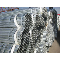 ASTM A53 GrA/B ERW round galvanized steel pipes