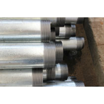 threaded hot galvanized pipe