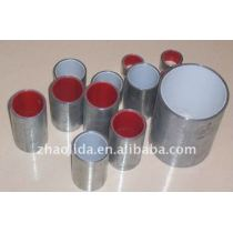 ERW galvanized steel pipe with plastic inner-lined pipe