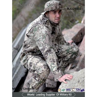 Military Uniform--Poly/Cotton Ripstop ACU Uniform