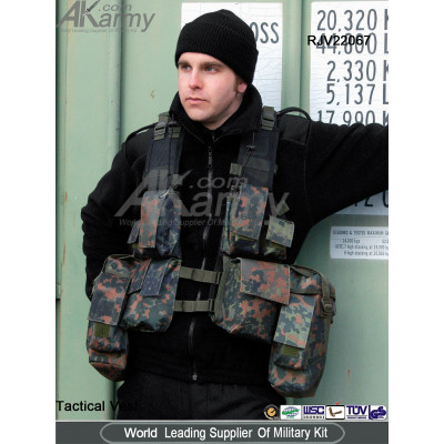 South African Assault Military Combat Paintball Tactical Vest