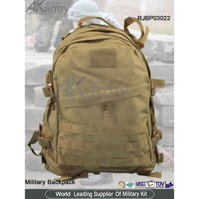 Khaki 3-Day Tactical Backpack