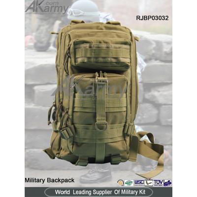 Khaki 3P Military Backpack