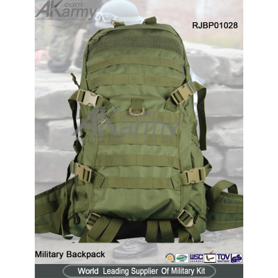 Drab Green TAD2 Military Backpack