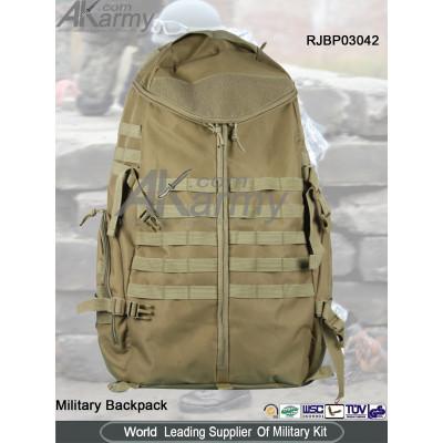 Khaki Military Backpack
