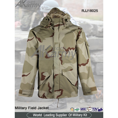 3-color desert camo military  jacket