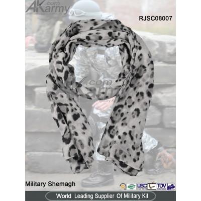 Black Spots Cotton Shemagh