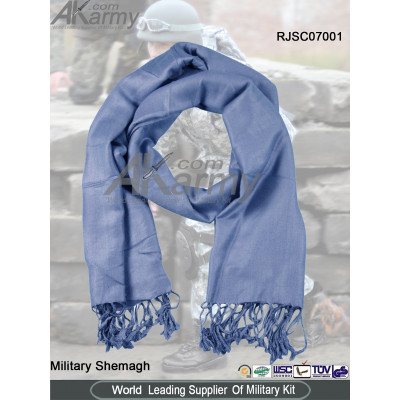 Blue Cotton Shemagh