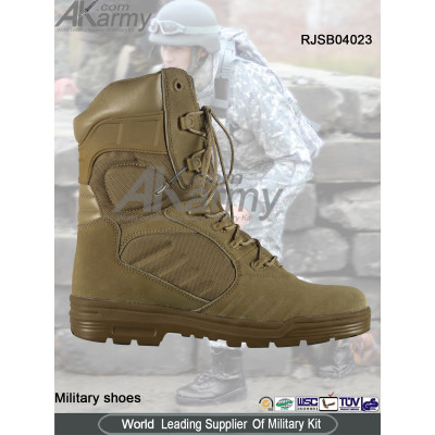 Long Desert  Military Boots