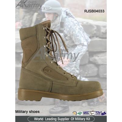 Midi Desert  Military Boots