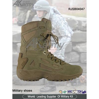 Tan Desert  Military Boots