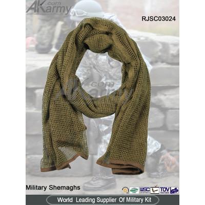 Khaki Poly Military Shemagh