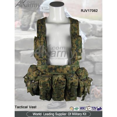 Digital Woodland Tactical Vest