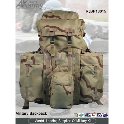 3 Color Desert Alice1 Military Backpack